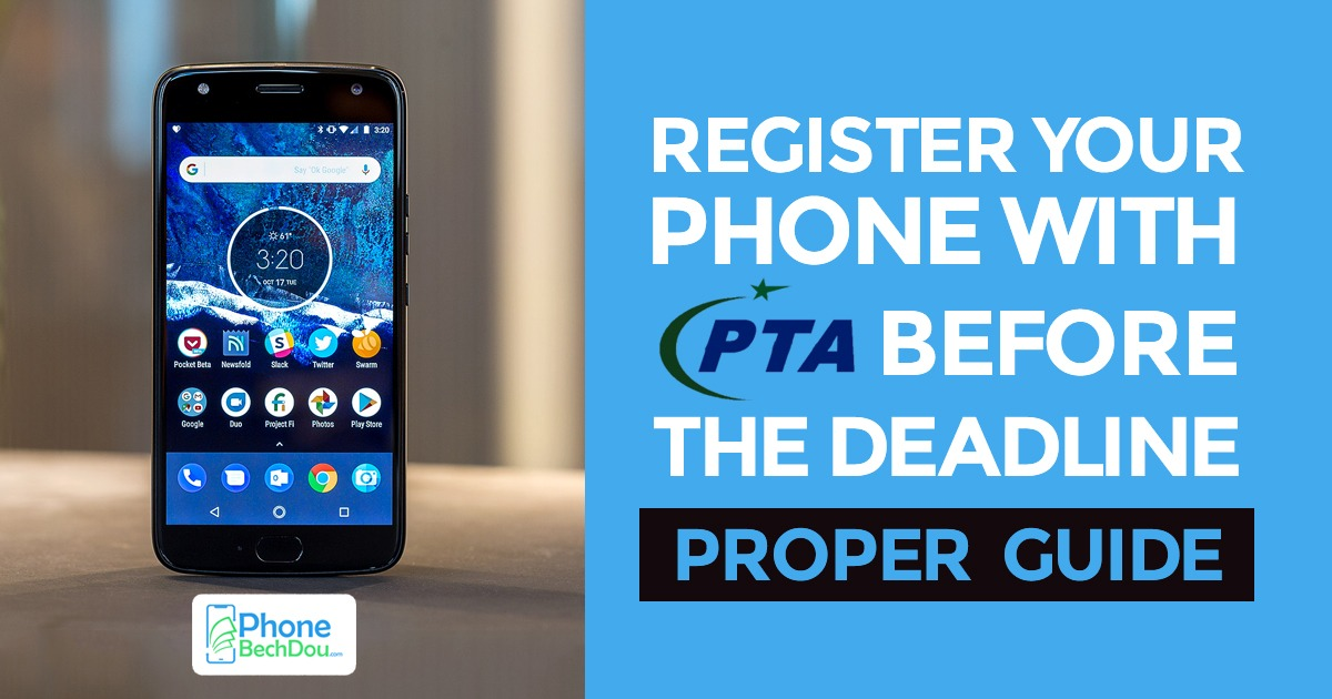 How to register your mobile phone with PTA? Get registered your phone
