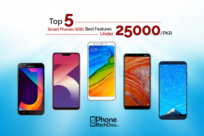 93391d3d79e Top 5 latest smartphones with best specification in 25000 PKR ...
