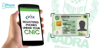 check pta registered phone on cnic - Phone Bech Dou