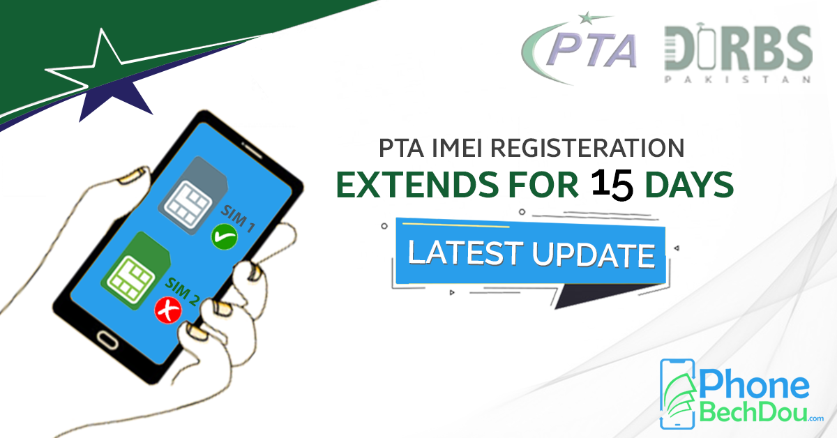 PTA imei registration gets extension of 15 days- pta device