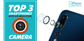 top 3 smartphones with 40 megapixels camera - phonebechdou
