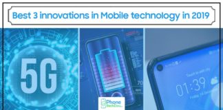 Best 3 innovations in Mobile technology in 2019 - phonebechdou
