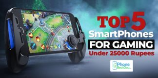 top 5 smartphones for gaming under 25000 rupees - phonebechdou
