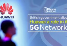 British Government Allows Huawei to work on its 5g Network