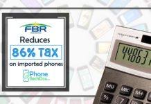 pta tax reduces on imported phones - phonebechdou