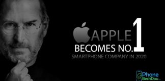 apple becomes number one smartphone company in 2020 - phonebechdou