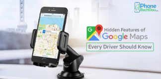 google map hidden features - phonebechdou
