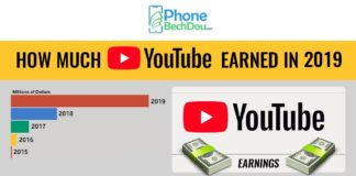 how much youtube earned in 2019 - phonebechdou