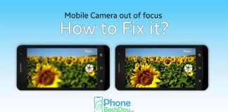 Cell phone camera out of focus? How to solve it? The quality of current cell phone cameras is often in no way inferior to professional equipment. Nevertheless, it sometimes happens that images from the cell phone camera are out of focus. If the photo app shoots blurry photos on your mobile phone, this is due to various causes. A simple setting is often enough to improve the image quality again. We give you tips for problems with your cell phone camera. The solutions help cameras of all major cell phone manufacturers, for example the Samsung Galaxy S8, S10 or the iPhone. Blurred images with cell phone camera: solutions Many cell phone problems can be solved by a simple restart. So switch your device off, on again and take your photo again. If that doesn't help, there are other solutions for blurred images with the cell phone camera: First, make sure the camera lens is clean. Gently wipe the lens with a cloth. Also check whether there is a protective film or the cell phone cover over the camera. Sometimes the cell phone protection shifts, for example if you have your cell phone in your pocket. If you take a photo, you should keep your hands and smartphone as still as possible. Especially in low light conditions, it takes longer for the camera app to trigger. For evening and night shots, a tripod is suitable for your cell phone . More tips against poor photo quality An incorrect setting may simply result in blurred images. Make sure that the flash is activated for pictures. Then shoot your shot again and check if the quality is still poor. Check the settings of the camera app to see if the correct focus setting is active for your shot. For example, to compensate for movements on Samsung Galaxy devices immediately after the shot, you activate the tracking AF . If you tap a spot on your mobile phone screen with the camera app open, the corresponding spot will be focused. Manual focus may not be able to shoot a sharp subject. If an unknown, incorrect setting causes blurry