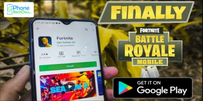 After years of controversy: Fortnite for Android officially on the Google Play Store