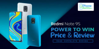 Xiaomi Redmi Note 9S Price in Pakistan -Redmi Note9 Review