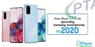 PTA Tax On Upcoming Samsung Smartphones 2020