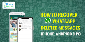How to recover whatsapp deleted messages