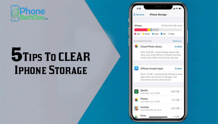 Check out 5 steps to free up storage space on your iPhone