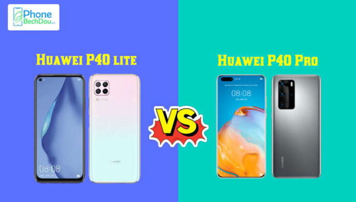 Huawei P40 Lite and Huawei P40 Pro – comparison (2020)