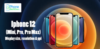 iPhone 12 (mini, Pro, Pro Max) - Display size, resolution & ppi (Best Guide)