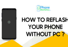 HOW TO REFLASH YOUR PHONE WITHOUT PC