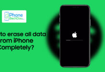 How to erase all data from iPhone completely