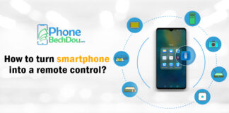 How to turn smartphone into a remote control