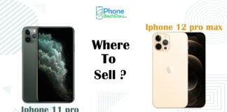 sell iPhone 11 Pro, iPhone 12 Pro Max