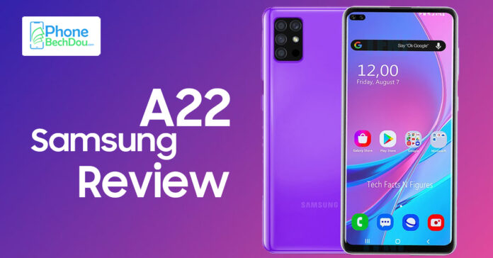 Samsung A22 review