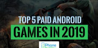 top 5 paid games PhoneBechDou