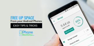 free up space from your android phone