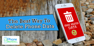 the best way to delete phone data - PhoneBechDou