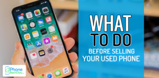 what to do before selling used phone - Phone Bech Dou