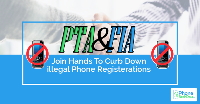 pta and fia active illegal phones - phone bech dou