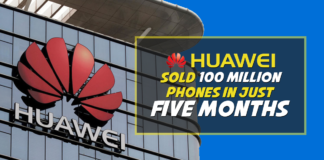 huawei sold 100 million mobiles - phonebechdou