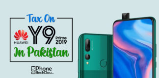 pta tax on huawei y9 prime - Phone Bech Dou