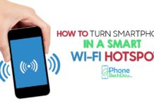 mobile hotspot - phonebechdou
