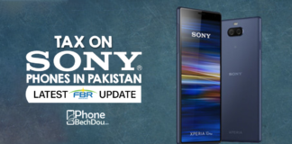tax on sony phones in pakistan - phonebechdou