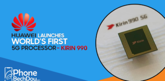 Huawei launches world first 5g processor-kirin 990 - phone bech dou