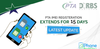 pta dual sim registeration latest update - phonebechdou