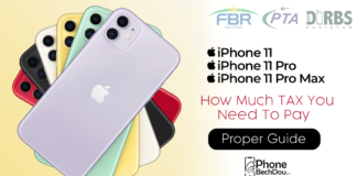 pta tax on latest iphone 11 pro - phonebechdou