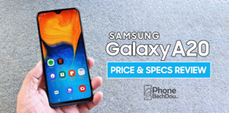 samsung galaxy a20 price and specs review in pakistran - phonebechdou