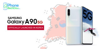 samsung galaxy a90 5g first launch - phonebechdou