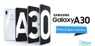 samsung galxy a30 specs and review - phonebechdou