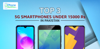 top 3 5g phones under 15000 rupees in pakistan - phonebechdou
