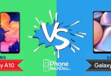 samung galaxy a10 vs a10s - phonebechdou