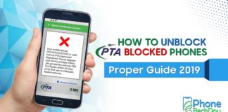 how to unblock pta blocked phones - phone bech dou
