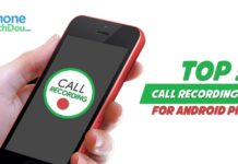 top 5 call recording apps for android phone - phone bech dou