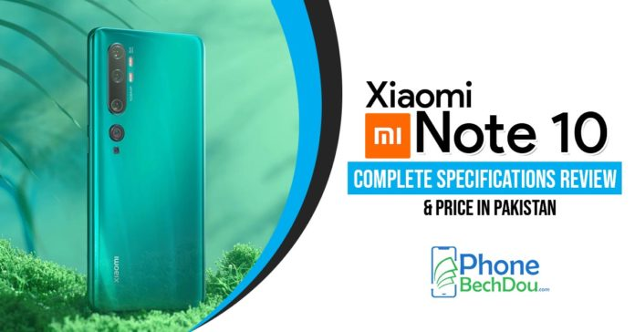 xiaomi mi note 10 specification review and price - phonebechdou