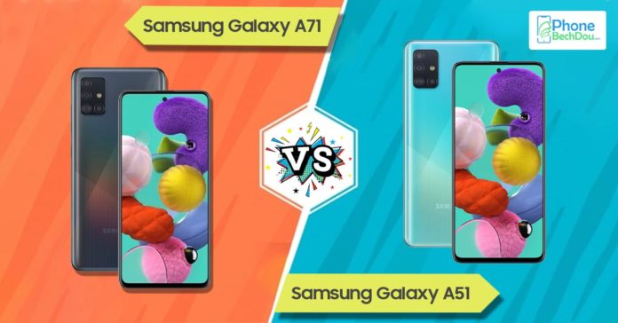 samsung galaxy a71 vs a51 - phonebechdou