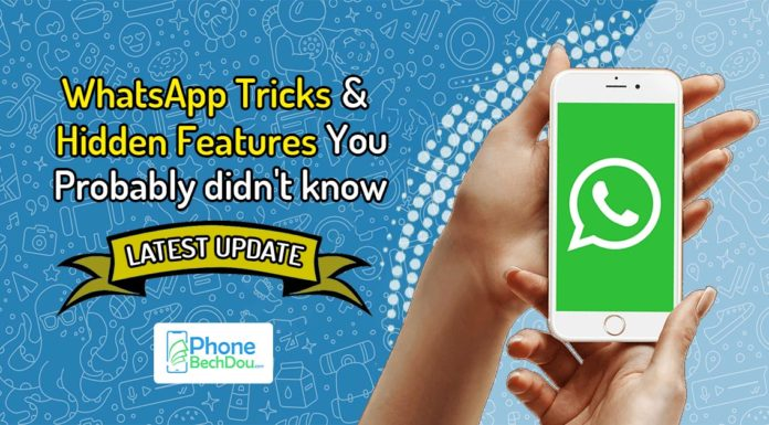 whatsapp trickd and hidden features - phonebechdou