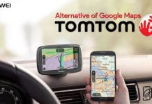 huawei tomtom map alternative of google maps phonebechdou