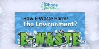how ewaste harms the enviornment