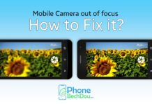Cell phone camera out of focus? How to solve it? The quality of current cell phone cameras is often in no way inferior to professional equipment. Nevertheless, it sometimes happens that images from the cell phone camera are out of focus. If the photo app shoots blurry photos on your mobile phone, this is due to various causes. A simple setting is often enough to improve the image quality again. We give you tips for problems with your cell phone camera. The solutions help cameras of all major cell phone manufacturers, for example the Samsung Galaxy S8, S10 or the iPhone. Blurred images with cell phone camera: solutions Many cell phone problems can be solved by a simple restart. So switch your device off, on again and take your photo again. If that doesn't help, there are other solutions for blurred images with the cell phone camera: First, make sure the camera lens is clean. Gently wipe the lens with a cloth. Also check whether there is a protective film or the cell phone cover over the camera. Sometimes the cell phone protection shifts, for example if you have your cell phone in your pocket. If you take a photo, you should keep your hands and smartphone as still as possible. Especially in low light conditions, it takes longer for the camera app to trigger. For evening and night shots, a tripod is suitable for your cell phone . More tips against poor photo quality An incorrect setting may simply result in blurred images. Make sure that the flash is activated for pictures. Then shoot your shot again and check if the quality is still poor. Check the settings of the camera app to see if the correct focus setting is active for your shot. For example, to compensate for movements on Samsung Galaxy devices immediately after the shot, you activate the tracking AF . If you tap a spot on your mobile phone screen with the camera app open, the corresponding spot will be focused. Manual focus may not be able to shoot a sharp subject. If an unknown, incorrect setting causes blurry images, you can reset the settings directly in the options of the camera app. For Android phones, it is also recommended to clear the cache of the camera app: 1. First open the settings of the mobile phone. 2. Go to the section for the installed apps . 3. Go to the options for the camera app. 4. In the storage options you choose Clear Data and Clear Cache . If your recordings are still out of focus despite all possible solutions, there may be a technical defect in the cell phone or camera. In this case, you should replace the camera.